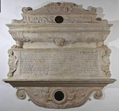 Pietro Barilotto, Monumento funerario a Giuliano Camerario, 1533