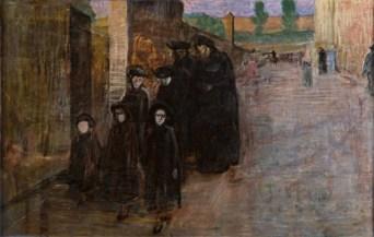 Domenico Baccarini, La Famiglia in lutto (La strada)
