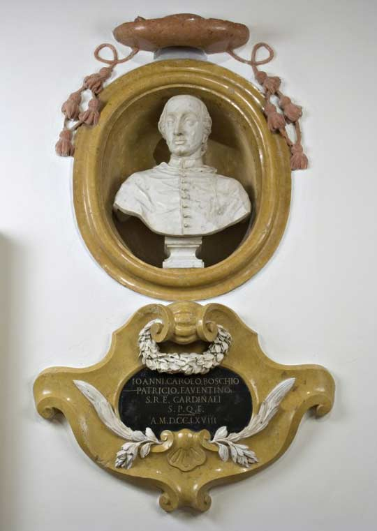 Domenico Toschini e Nicola Toselli, Monumento onorario al Cardinale Giovanni Carlo Boschi, 1762