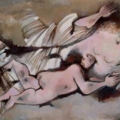 GIANNA BOSCHI (1913 -1986), Diana, figura femminile in volo
