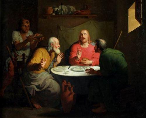 Tommaso Minardi, La cena in Emmaus