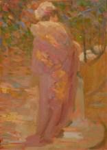 CARLO CORSI (1879 – 1966) Figura femminile di profilo