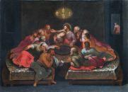 TOMMASO MINARDI (1787-1871) Ultima cena Olio su tela, cm 73 x 99,5 Inv. n. 919 Provenienza: depositato dalla Congregazione di Carità di Faenza