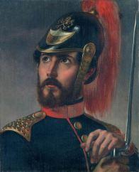 STEFANO USSI (1822-1901) Ritratto di Federico Argnani Olio su tela, cm 48 x 39 Inv. n. 985 Provenienza: donato dalla vedova Argnani, 1905