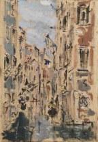 FILIPPO DE PISIS (1896–1956) Rio in S.Barbara (Venezia)