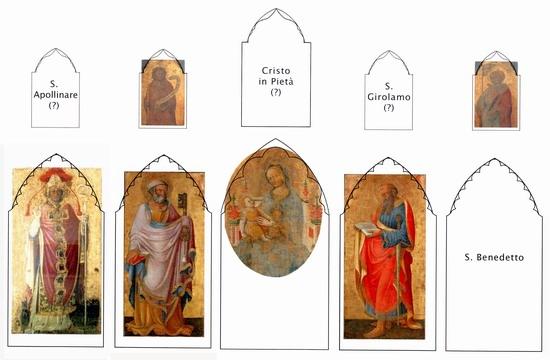 Maestro del S.Pier Damiani, 1430 circa, San Pier Damiani, tempera su tavola, cm. 76x41,5, Ravenna, Pinacoteca Comunale. Riproduzione con fotografia digitale, opera non concessa per esigenze conservative