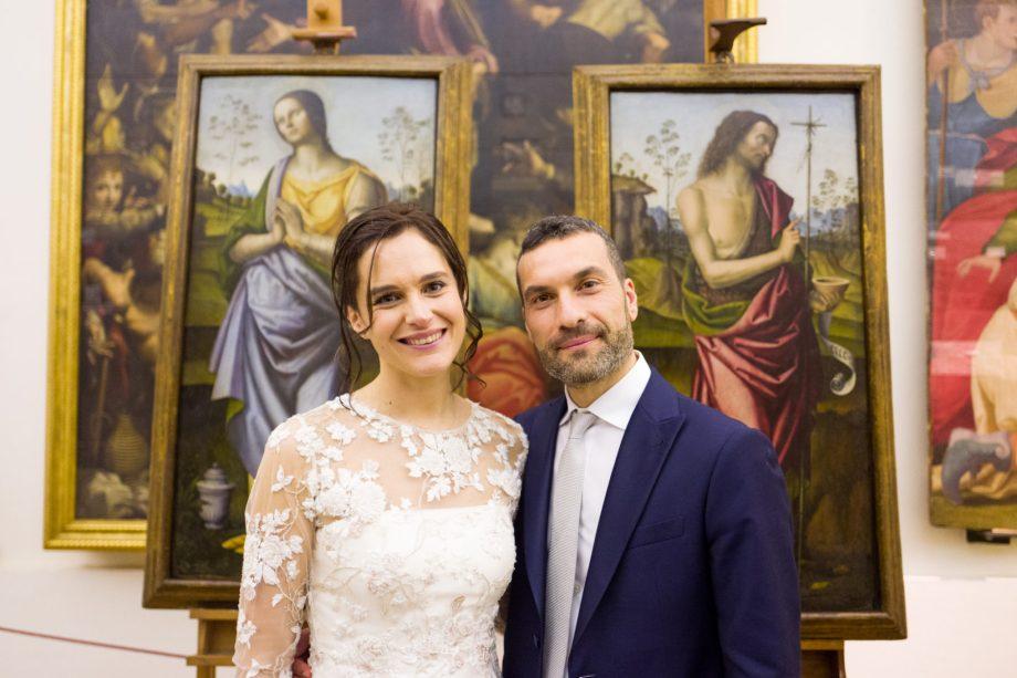 Restauro e Matrimonio in Pinacoteca