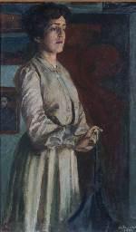 Ritratto della sorella Giovanna (L'attesa)