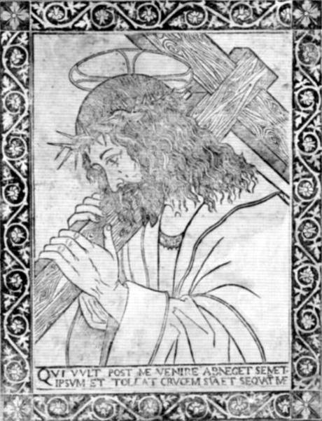 Anonimo lombardo, Cristo portacroce