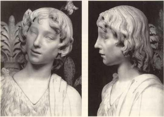 Benedetto da Maiano, San Giovannino, Firenze, Palazzo Vecchio