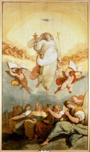 Felice Giani, Trionfo della Fede