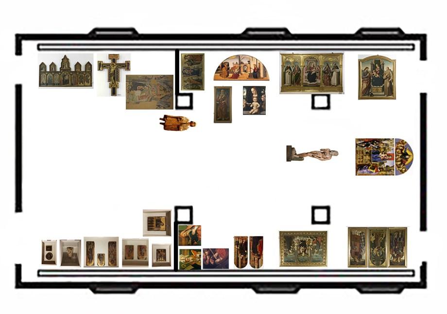 Mappa sala d'ingresso