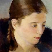 Franco Gentilini (Faenza, 1909 - Roma, 1981), Ritratto di Argentina Liverani