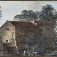 Pietro Piani (Faenza, 1770 - Bologna, 1841), La casa sul ponte