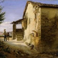 Antonio Berti (Faenza, 1830 - 1912), L'aia