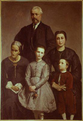 Antonio Berti, La famiglia Castellani