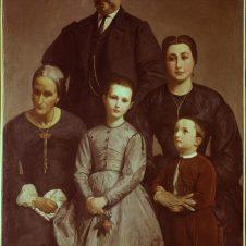 Antonio Berti (Faenza, 1830 - 1912), La famiglia Castellani