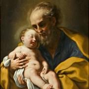 Elisabetta Sirani (Bologna, 1638 – 1665), San Giuseppe col Bambino