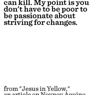 Jesus in Yellow