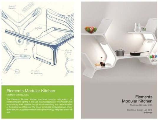 3rd Prize - Elements Mod Kitchen