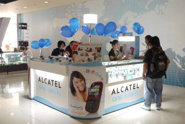 ALCATEL OneTouch Kiosk in SM North Edsa