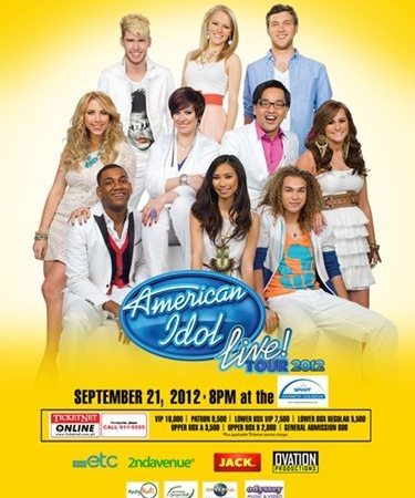 American Idol Season 11 Live! In Manila 2012