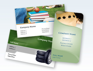 Support Eco-friendly Printed Business Cards