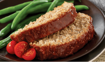 Glazed Turkey Meatloaf