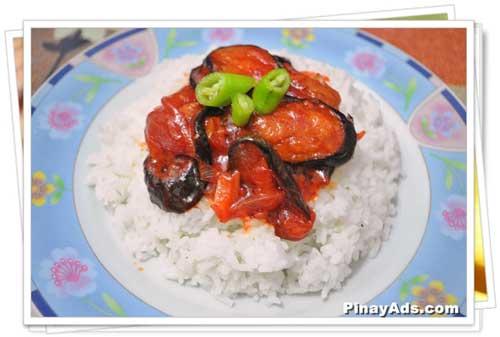 Ajinomoto Umami Seasoning & Sweet and Spicy Eggplant Rice Toppings