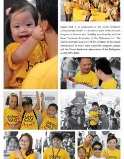 SM Cares Happy Walk at SM City North Edsa on February 24