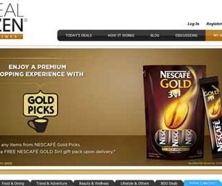"NESCAFE GOLD 3in1 ""Gold Picks""  From Deal Dozen"