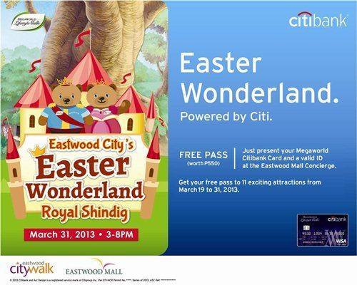 Megaworld Citibank-Easter Wonderland