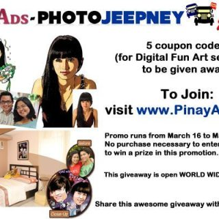 Photojeepney: One-stop online photo center + Giveaway