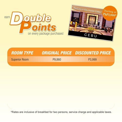 Radisson Blu Hotel Cebu Promo Package
