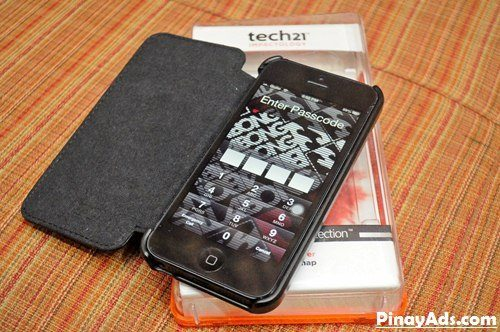 Tech 21 Case for iPhone 5 – Impact Snap with Cover