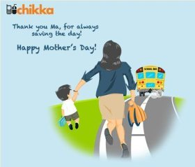 Chikka Mother's Day Photo