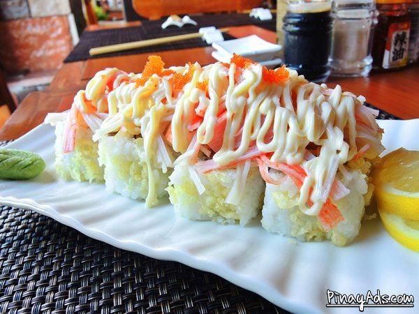 Crunchy Crab Maki Php 280