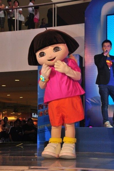 Dora loves to explore the world and now she's ready discover fun at the SM Supermalls