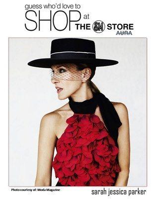 #SarahJParkerLoveToShopSMStore