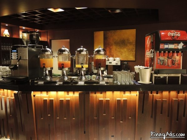 The buffet packaged included unlimited drinks. You can choose from fruit juices and soda.