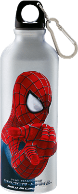 The Image-Appearing Tumblers reveal Spider-Man's image when filled with your favorite cold beverage.