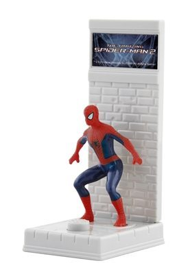 The WALL JUMPER makes Spider-Man jump and stick to the wall