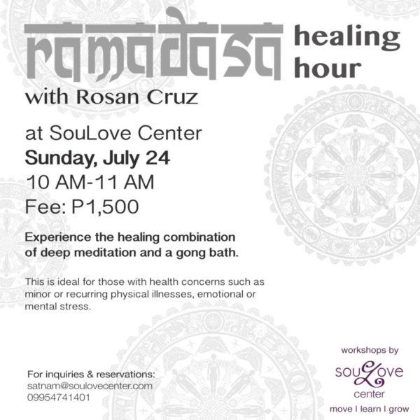 Gong Healing with Rosan Cruz