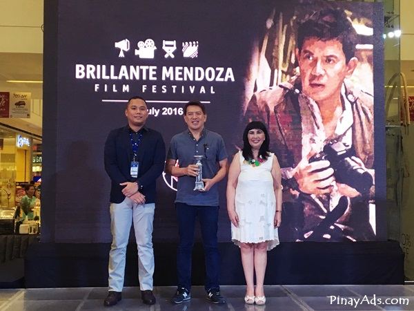 Brillante Mendoza Film Festival at SM City Masinag