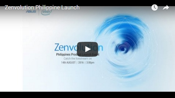 ASUS Zenfone 3 Launch – Philippines Zenvolution Live Update