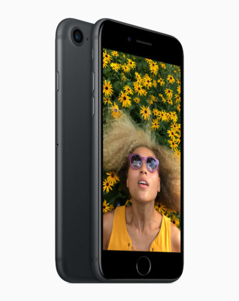 The 12-megapixel camera on both iPhone 7 and iPhone 7 Plus includes optical image stabilization, a larger ƒ/1.8 aperture and 6-element lens enabling brighter, more detailed photos and videos.