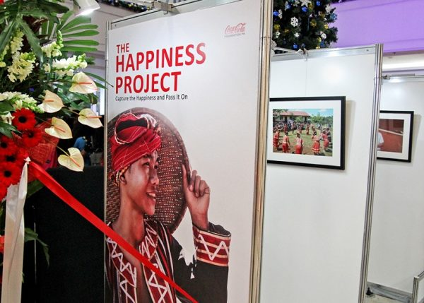 Images that captured the many forms of happiness brought by the Coca-Cola Foundation Philippines in its various programs were put on display at the Gateway Mall in Cubao.