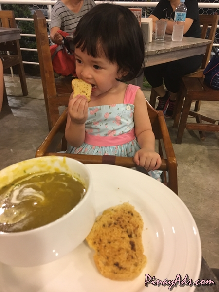 My daughter loves the Roasted Pumpkin Soup