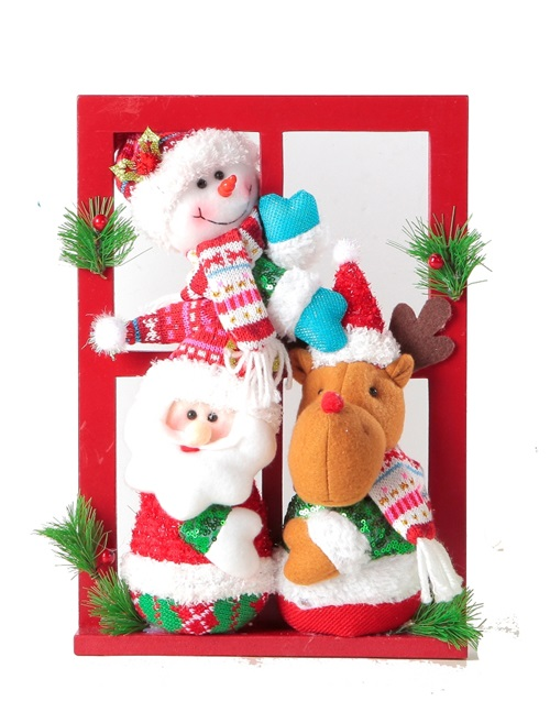 Santa plushies will bring cheers to your home