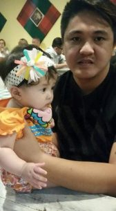 My daughter Sam with my brother (October 2015)